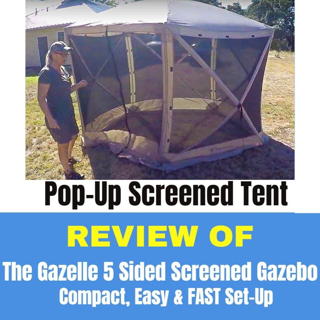 Gazelle Popup Screened Tent